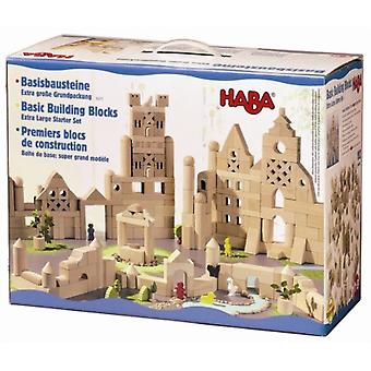 HABA -Extra large Starter Set  of Building Blocks (102) 1077
