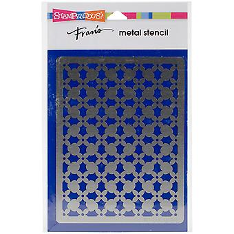 Stampendous Metal Stencil-Holly Pattern FMS-4043