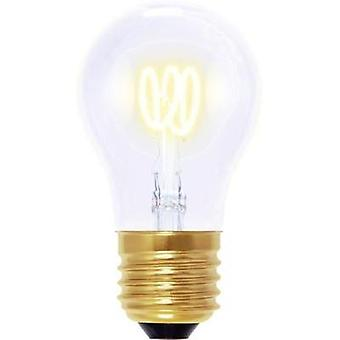 LED (monochrome) Segula 230 V E27 2.7 W = 9 W Warm white EEC: A Arbitrary (Ø x L) 45 mm x 85 mm dimmable, Filament 1 pc