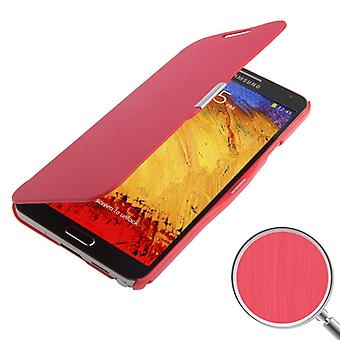 Cell phone cover case voor Samsung Galaxy touch 3 N9000 rode geborsteld
