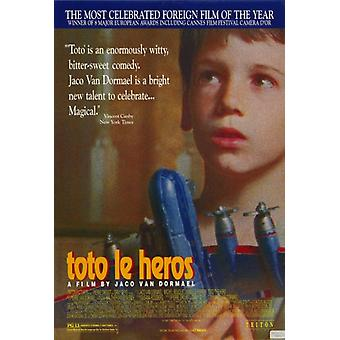 Toto le Heros filmposter (11 x 17)