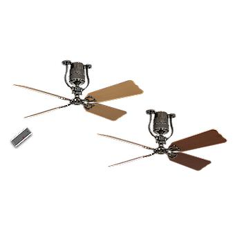 Ceiling fan Roadhouse Pewter 132 cm / 52