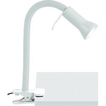Clip lamp Energy-saving bulb E14 40 W Brilliant Antony White