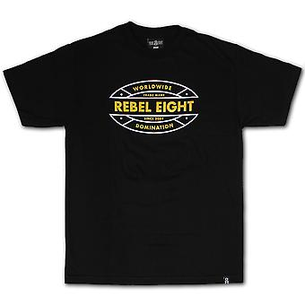Rebel8 Off Track T-shirt Black