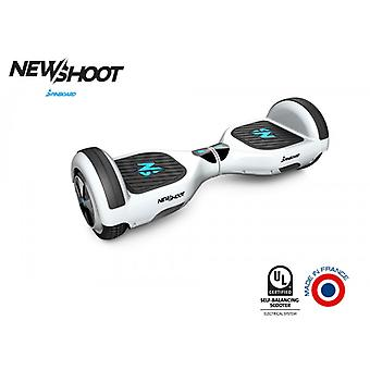 hoverboard spinboard © classic pure white