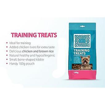 Burns uddannelse behandler kylling & brune ris 100g (pakke af 20)