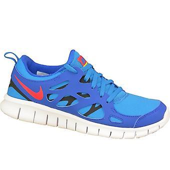 Nike gratis 2 Gs 443742-404 barna løpesko