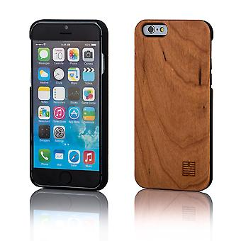 32 madera Volver Estuche para iPhone de Apple 6 Plus (5.5) - pera