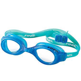 Okulary pływackie FINIS H2 Junior - niebieski/Clear