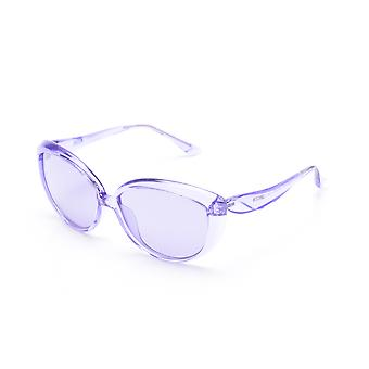 Moschino Women's  Oversized Cat Eye Sunglasses Purple