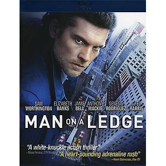 Man on a Ledge [BLU-RAY] USA import