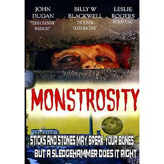 Monstrum [DVD] USA importerer