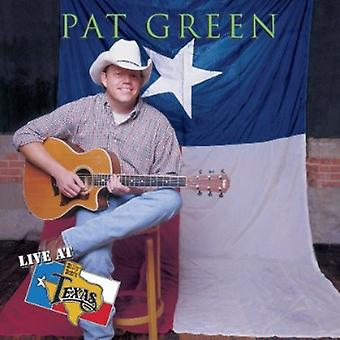 Pat Green - en vivo en importación de Estados Unidos de Billy Bob Texas [CD]