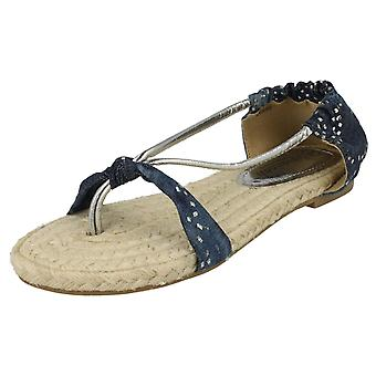 Damer Savannah flade indlæg sandaler 'L6680'