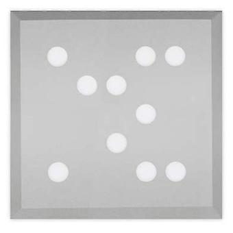 Leds C4 Plafón Wow 100xLed Samsung 29.2W Gris (Home , Lighting , Hanging lamps)