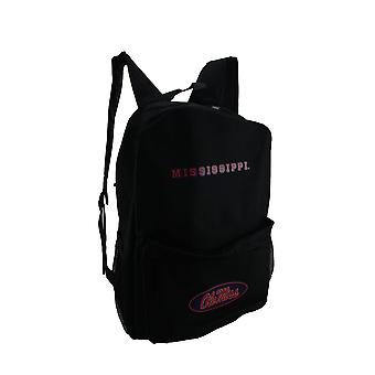 NCAA Ole Miss University of Mississippi Canvas Backpack