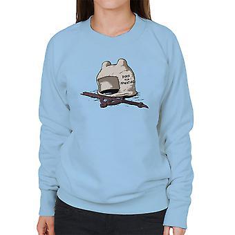 Born For Adventure Time Finn The Human Women's Sweatshirt