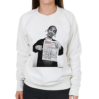Snoop Dogg Daily Star Newspaper kvinners Sweatshirt