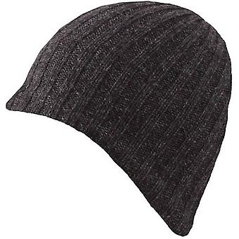 Bosses Lambswool mélange Knitted Beanie - Charcoal