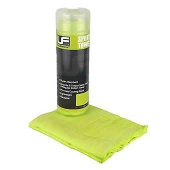 UFE Ausrüstung schnell trocknende Microfaser Sporthandtuch [Grün]