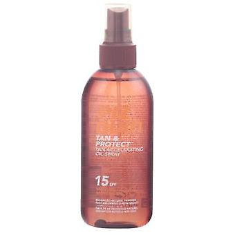 Piz Buin Tan &Protect Spray Oil SPF 30 Tanning Accelerator