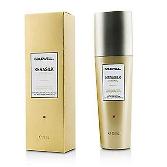 Goldwell Kerasilk Control Smoothing Fluid (For Unmanageable Unruly and Frizzy Hair) - 75ml/2.5oz
