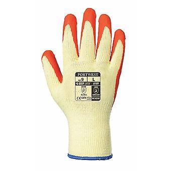 sUw - Grip Latex Palm Dipped Gripper Gloves (1 Pair Pack)