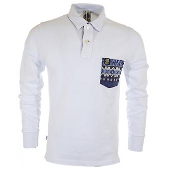 Franklin & Marshall completo manga Piquet Slim Fit Polo blanco