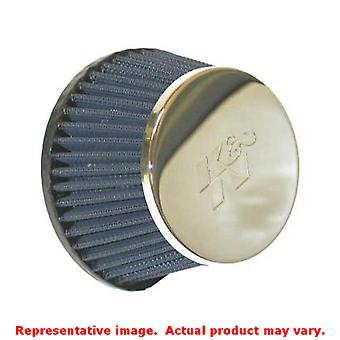 K&N Universal Filter - Marine Flame Arrestor 59-5004 Chrome 0 in (0 mm) Fits:UN