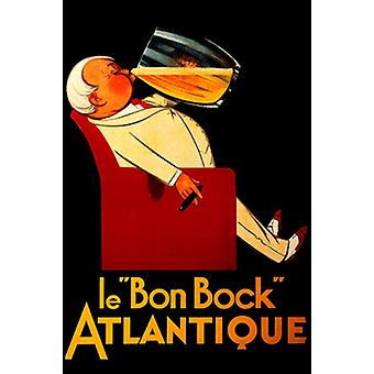 Le Bon Bock Atlantique Poster Print (15 x 21)