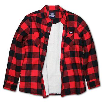Dickies Lansdale Lined Over Shirt Red