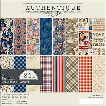 Authentique Double-Sided Cardstock 6