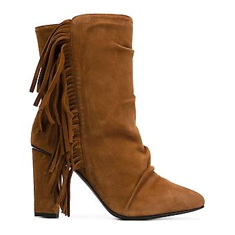 Giuseppe Zanotti design women's 5708561465 brown suede ankle boots