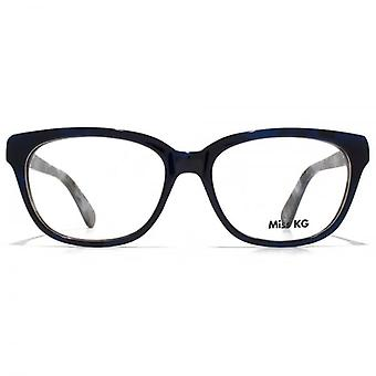 Miss KG Soft Rectangle Glasses In Blue