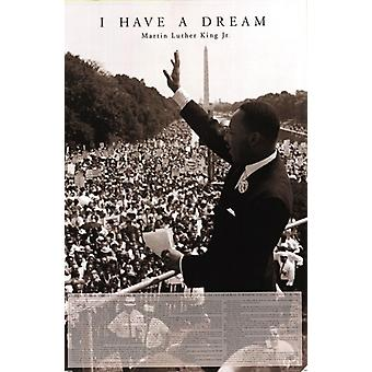 I Have A Dream - Martin Luther King Jr Poster Poster Print
