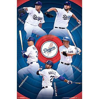 Los Angeles Dodgers - Team Poster Print