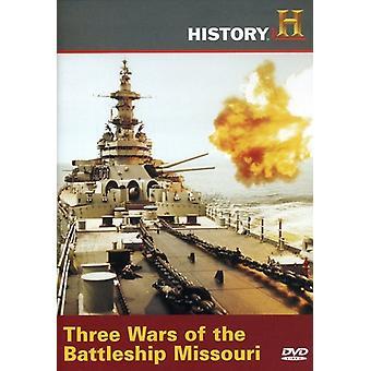 Three Wars of the Battleship Missouri [DVD] USA import