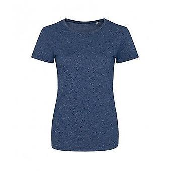 AWDis Womens/Ladies Girlie Space Blend T Shirt