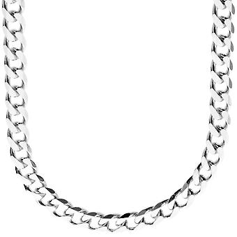 Sterling 925 Silver curb chain - CURB 7, 4 mm