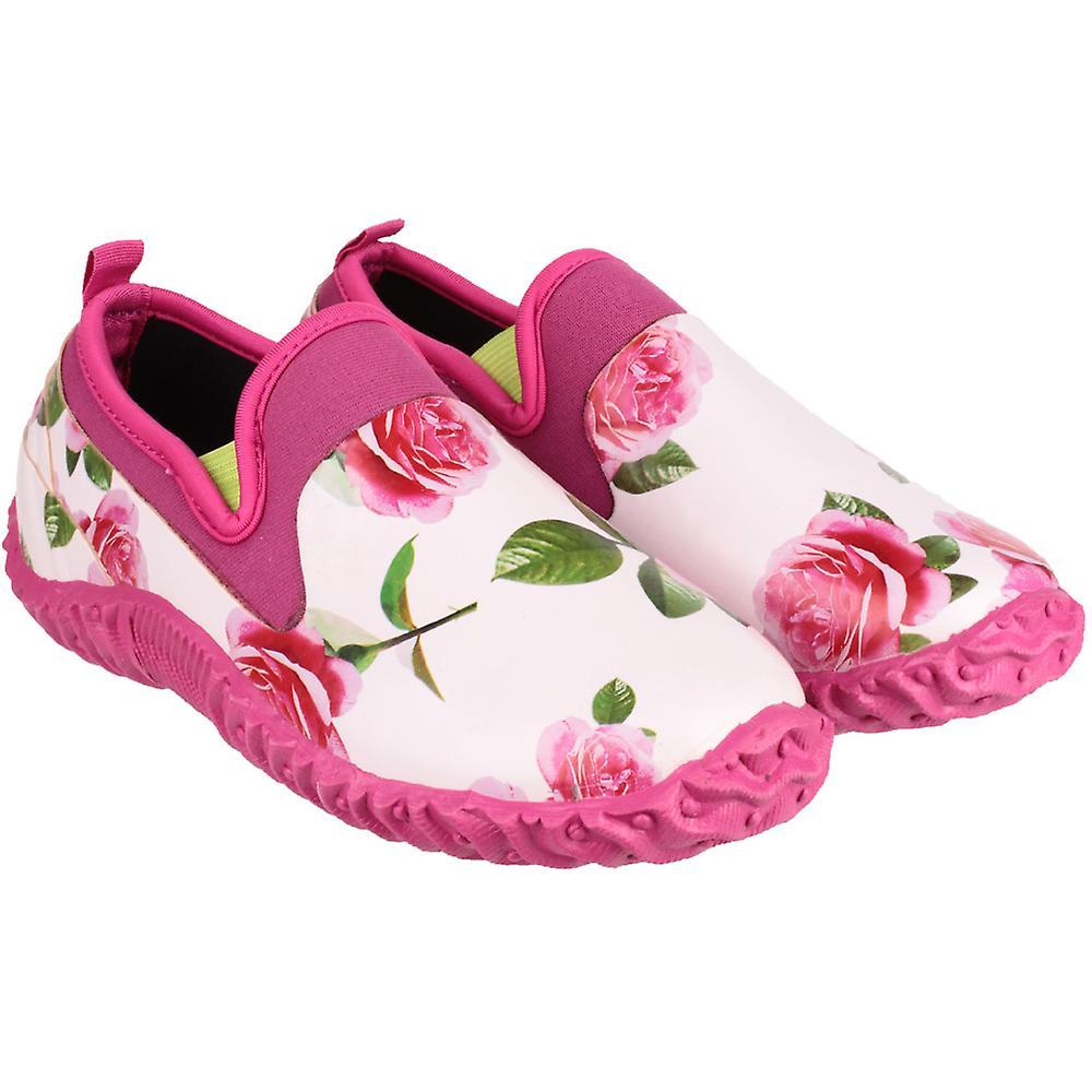 High Rubber Cotswold Pink Garden Ladies Backdoor Printed Waterproof Def Shoe wvwxEPqnX
