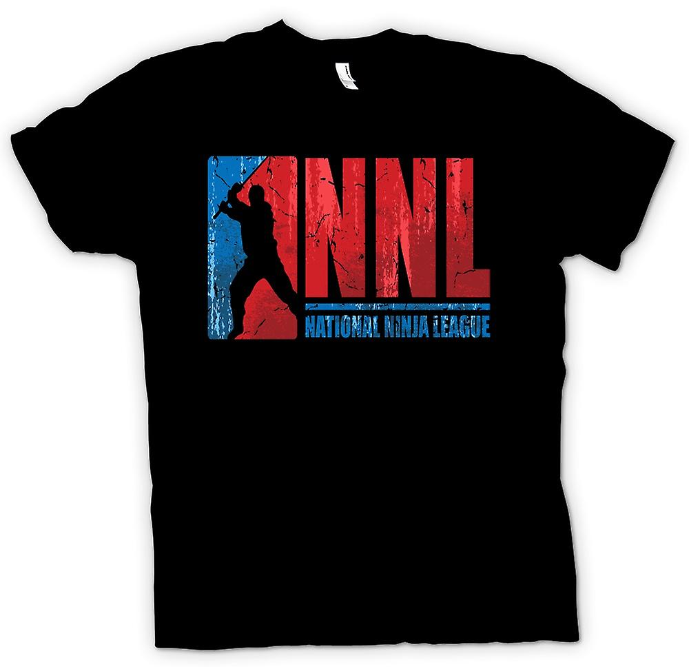 Herr T-shirt - NNL - nationella Nnija League
