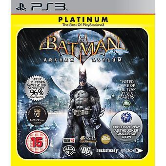 Batman Arkham Asylum - Platinum (PS3)
