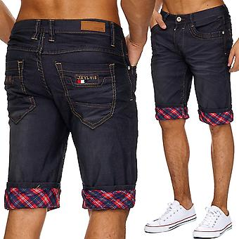 Men's Jeans Shorts Pants Stonewashed Classic Straight Shorts Denim Summer Cargo