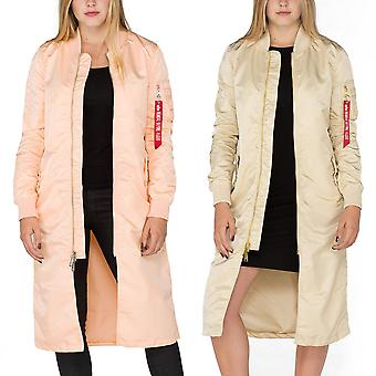 Alpha industries ladies jacket MA-1 coat LW PM long Wmn