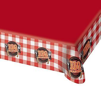 Tischdecke Tablecloth Tischtuch BBQMaster Grillparty Geburtstag 138x274cm