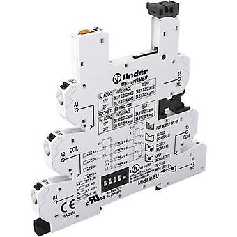 Relay socket + bracket, + LED, + EMC emission supressor 1 pc(s) Finder 93.69.0.024 Compatible with series: Finder 34 series Finder 34.51, Finder 34.81