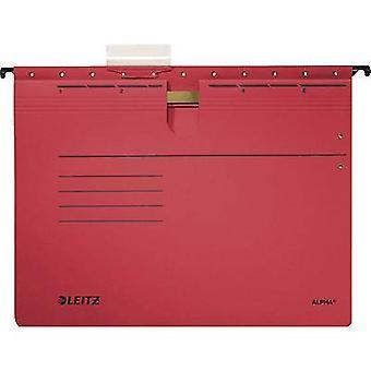 Leitz File display pocket Alpha A4 Red 5 pcs/pack. 19843025 1 pack