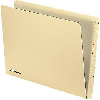 Leitz setting folder orga color 2432/2432 -00-11 A4 chamois 260 g/qm cont.100