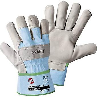 Full-grain cowhide Protective glove Size (gloves): 10, XL EN 388:2016 CAT II L+D worky Granit 1574 1 pair