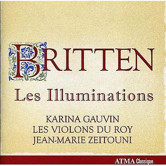 B. Britten - Britten: Les Illuminations [CD] USA import